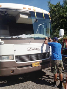 RV Windshield Repair in Bend